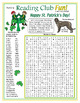 Irish Coming to America (St. Patrick's Day) Two-Page Activity Set
