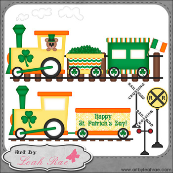 Irish Express 1 - Art by Leah Rae Clip Art & Line Art / Di