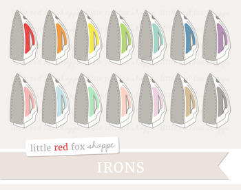 Iron Clipart; Cleaning