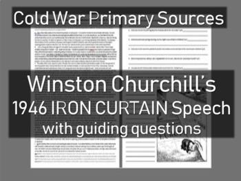 Iron Curtain Speech: Winston Churchill - Cold War Primary