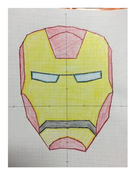 Ironman Coordinate Drawing