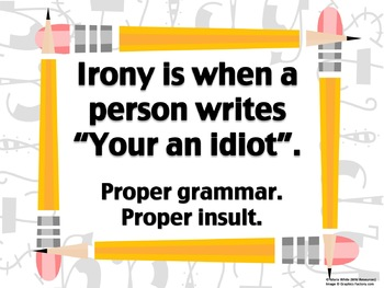 Irony and Insults