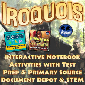 Iroquois Confederacy Interactive Notebook Activities with