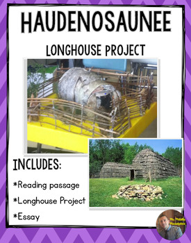 Iroquois Longhouse Project/Packet with Rubric: Non-Fiction