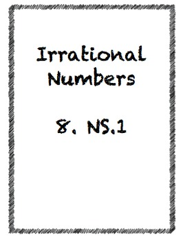 Irrational Numbers 8.NS.1