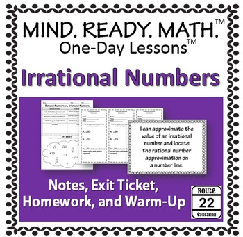 Irrational Numbers Notes