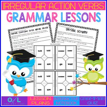 Irregular Action Verbs {Journeys} Week #24