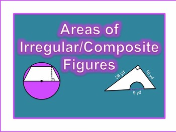 Irregular Composite Areas Tutorial (editable)