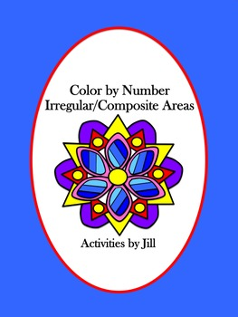 Irregular Composite Areas Color by Number