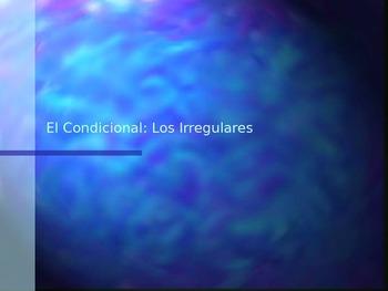 Irregular Conditional Verbs