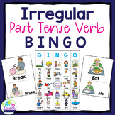 Irregular Past Tense Verb BINGO