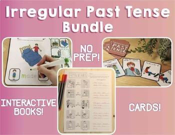 Irregular Past Tense Verbs: The Bundle!(Actions, Verbs, Sp