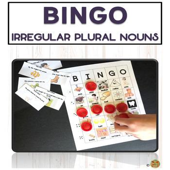 Irregular Plural Nouns! BINGO