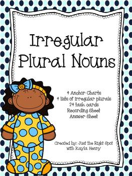 Irregular Plural Nouns L.2.1.b