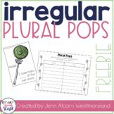 Irregular Plural Pops Freebie!