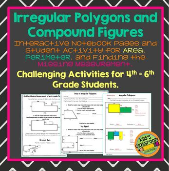 Irregular Polygons Finding the Area and Perimeter