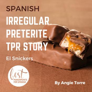 Irregular Preterite TPR Story Power Point in Spanish