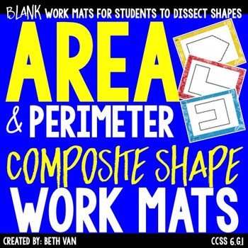 Irregular Shapes Work Mats • Looking at Complex Shapes to