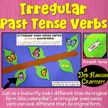 Irregular Verb Craftivity