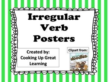 Irregular Verb Posters