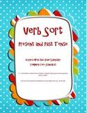 Irregular Verb Sort: Present and Past - 2nd Gr. Common Cor