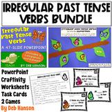 Irregular Past Tense Verbs: A Bundle of Activities!