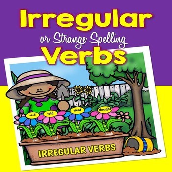 Irregular Verbs - Posters and Word Cards and Mini Book (Hi