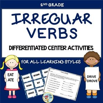 Irregular Verbs Center Activities