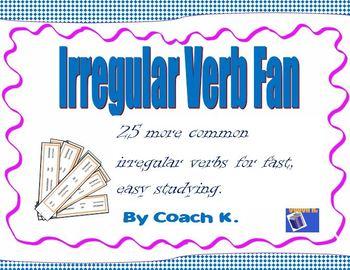 Irregular Verbs Fan 2
