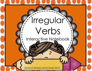 Irregular Verbs Interactive Notebook