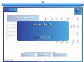 Irregular Verbs Past & Past Participle for Smartboard – Level 1
