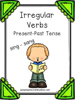 Irregular Verbs Present Past