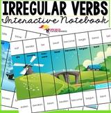 Irregular Verbs Puzzles + Editable Templates {Present, Pas