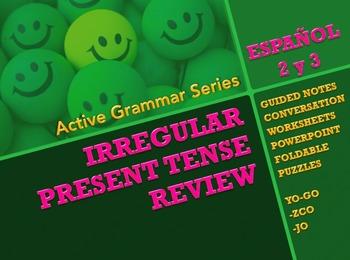 Irregular Verbs Review - Active Grammar Series