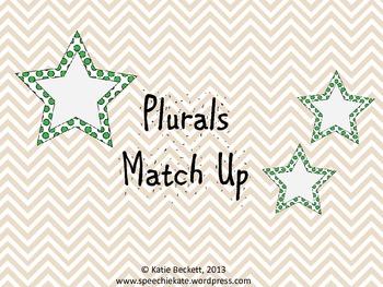 Irregular and Regular Plurals