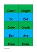 Irregular verbs matching cards