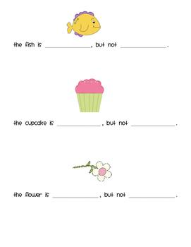 Is/Is Not: A Simple Descriptive Concepts Worksheet