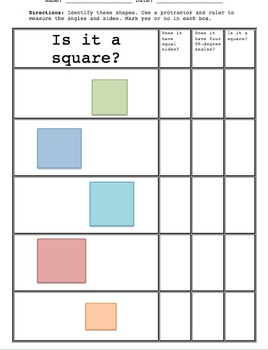 Is It A Square?