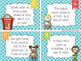 Is It A.M. or P.M.? Time Word Problem Task Cards - Back to