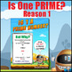 Is One a Prime Number? - A Test for Prime Numbers - 3 Post