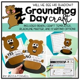 Is That His Shadow? {a Groundhog Day Craftivity}