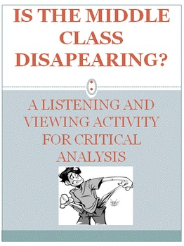 Is The Middle Class Disappearing? Critical Analysis