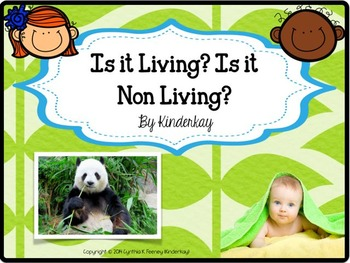 Is it Living? Is it Non Living? Mini Pack