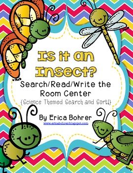 Is it an Insect?  Search/Read/Write the Room