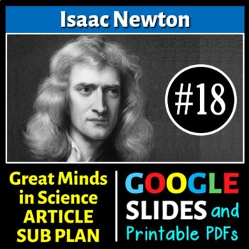 Isaac Newton - Great Minds in Science Article #18 - Scienc