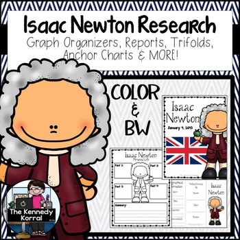 Isaac Newton {Biography Research Trifold, Scientist}