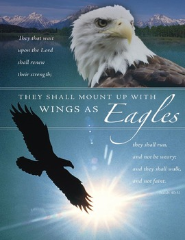 """Isaiah 40:31 """"To Mount Up With Wings as Eagles"""" – A Micros"""
