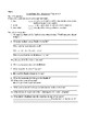 Island Book One:  Shipwreck Comprehension and Vocabulary Packet