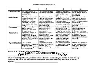 Island Government Project