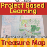 Treasure Map Project Based Learning and Assessment Rubric